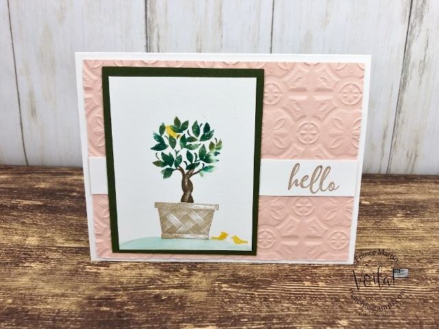 Beauty and Joy in 4 seasons. Lots of tips for this stamp set and the technique is the baby wipe.