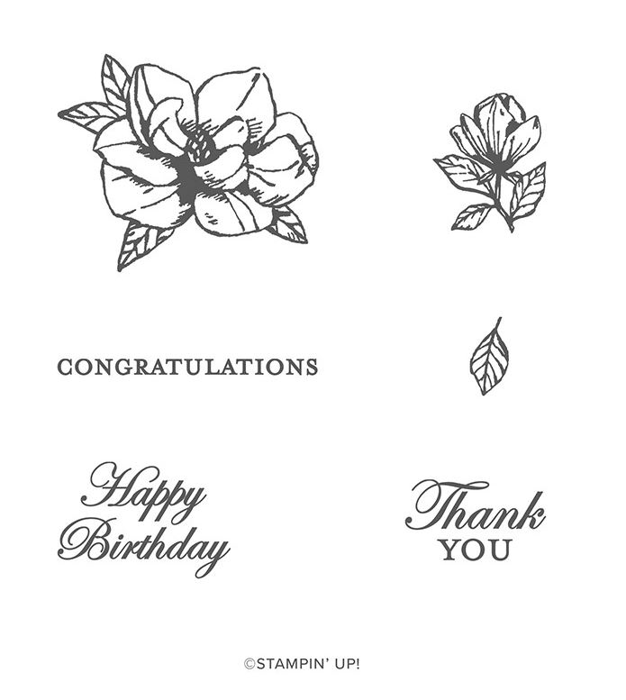 Magnolia Blooms Giveaway at frenchiestamps