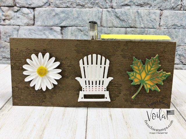 DIY calendar with Post It Note and pen holder. Changeable elements for each seasons.
