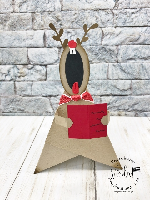 Tee Pee card turn into a little Singing Creature.
