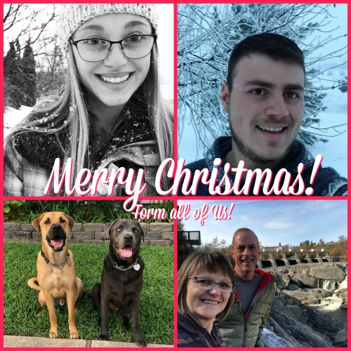 Merry Christmas from the Martin'