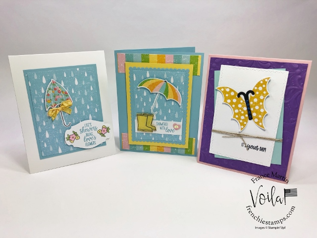 New release coordination product by Stampin'Up! February 4th 2020. Coordination Pleased As Punch and Umbrella Builder Punch
