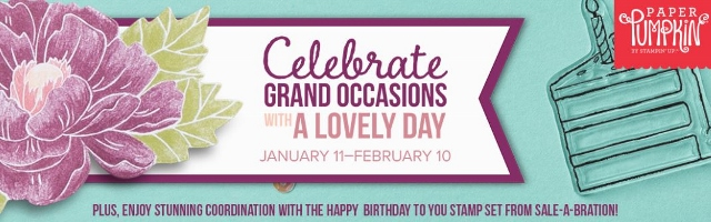 February's Paper Pumpkin kit is coming, and love is in the air! The Lovely Day kit is versatile, elegant, and the perfect way to help your customers celebrate birthdays and other grand occasions. Subscribe at frenchiestamps.com