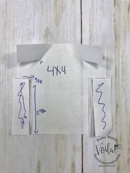 Pattern for paper men shirt