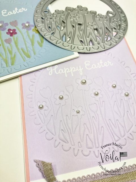 How to emboss with detail dies and a silicone craft sheet.Sending Flowers Dies.