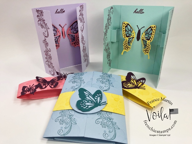 Gated Fold with Fluttering Butterfly