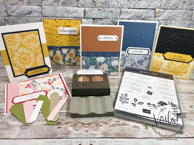 Flower For Every Season Designer Paper and Lovely Labels Pick a Punch