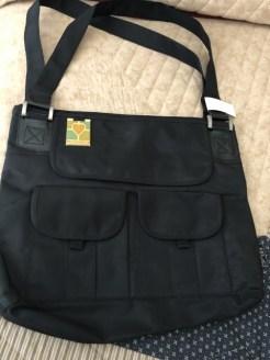 Get Connected Black bag 10.00