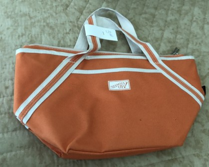 Insulated lunch bag orange 5.00
