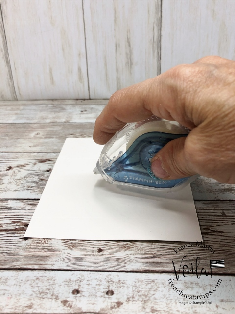 Tips and all you need to know about the Stampin' Seal Adhesive.
