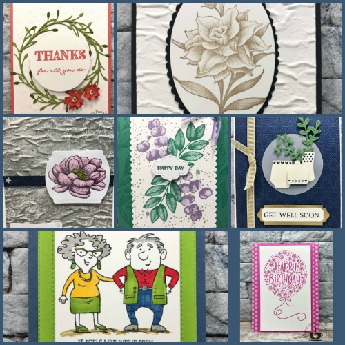 Frenchie' Team Showcasing New Release Stamp Set From Annual Catalog 2020-2021 Round 3