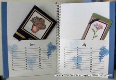 Portfolio Card Keeper Calendar