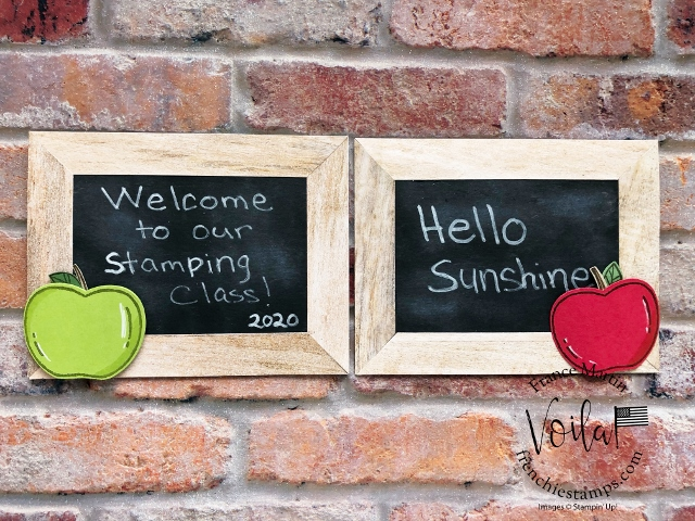 Simple Frame & Chalkboard.
