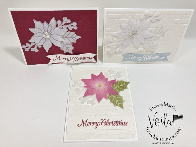 Plush Poinsettia Paper With And Without Color