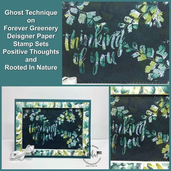 Ghosting on Designer paper.