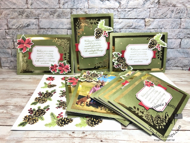Joy Of Sharing Christmas Card Kit