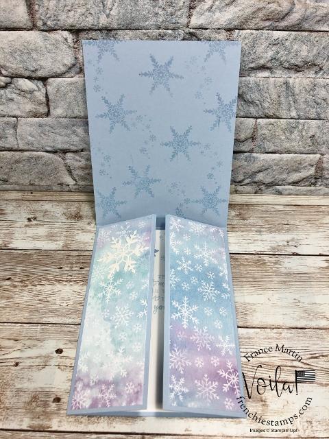 One Sheet Wonder with Snowflakes Splendor