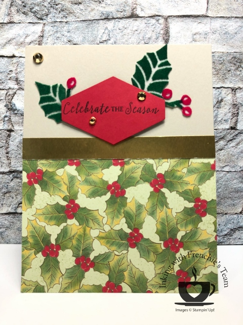 Plush Poinsettia Specialty Paper.