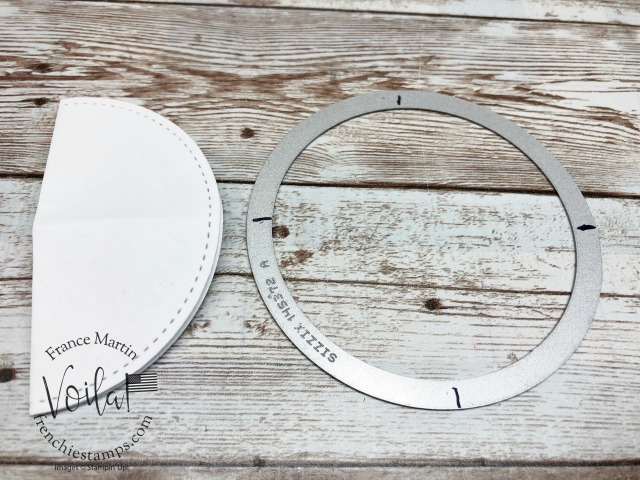 Tip to fin the center of an circle.