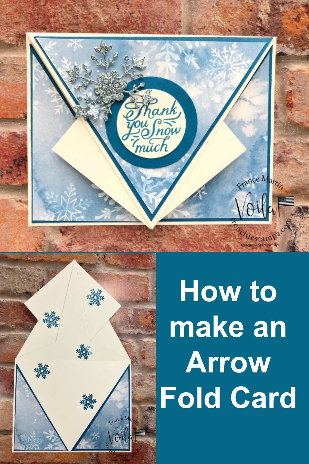 Snowflake Splendor Arrow Fold