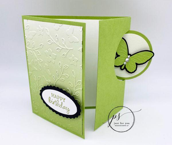 Circle Flap Fold Card