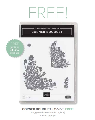 Corner Bouquet Stamp Set