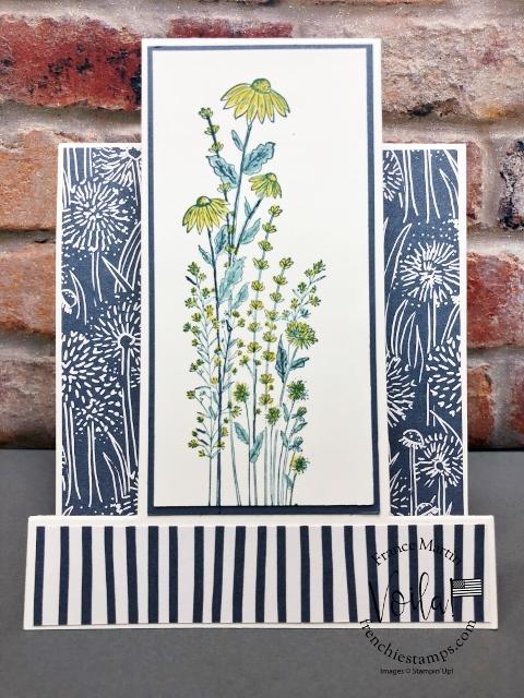 Card showcase the Dandy Garden Designer Paper.