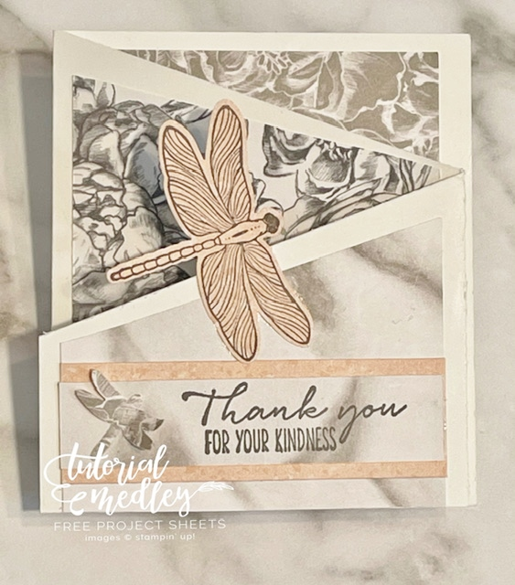 Cards with the Dragonfly Garden Bundle