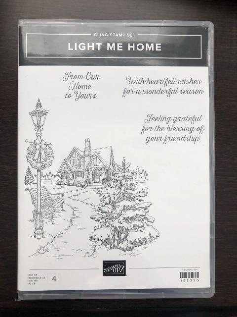 Light Me Home stamp set