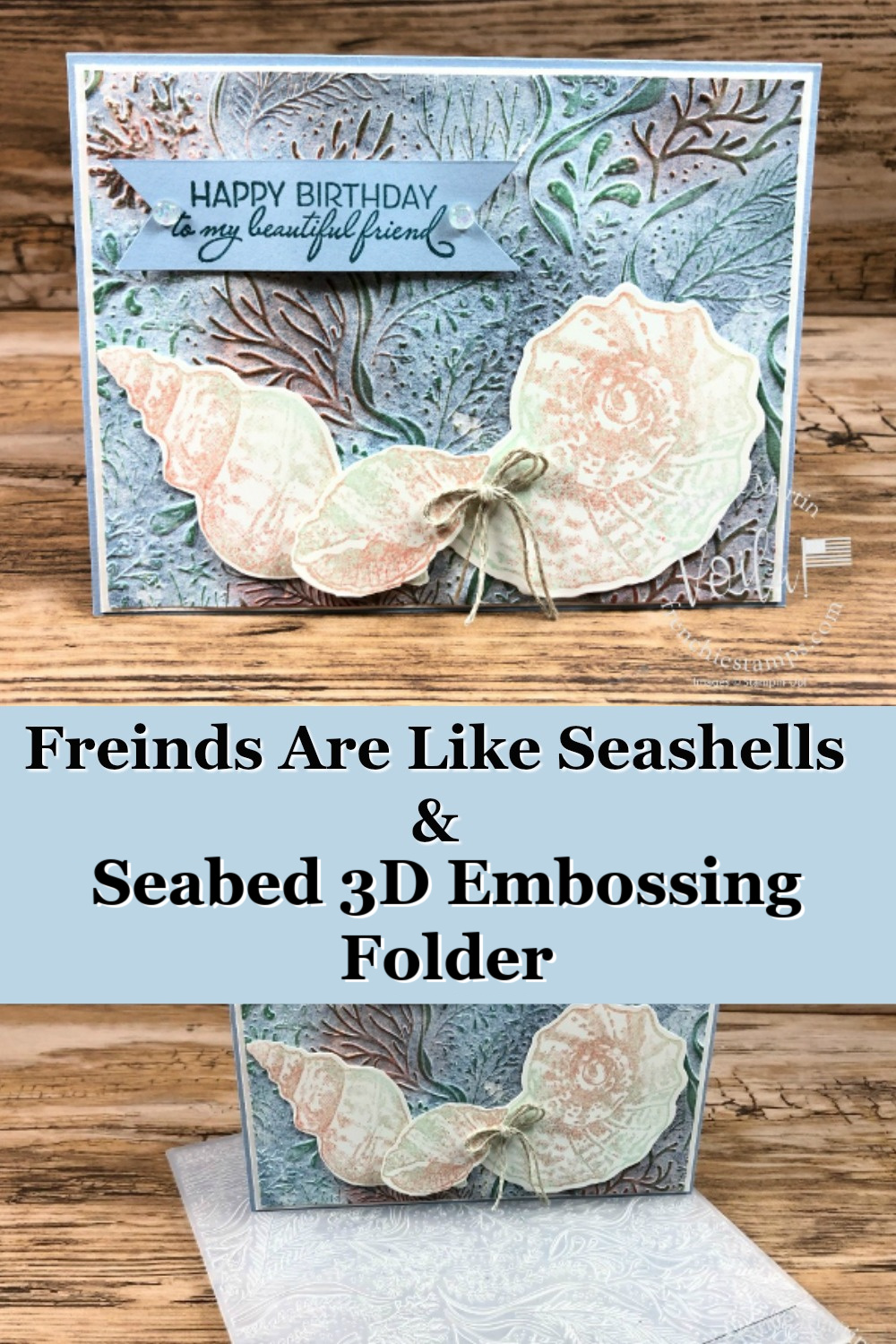 Friends Are Like Seashells Bundle with Seabed 3D Folder