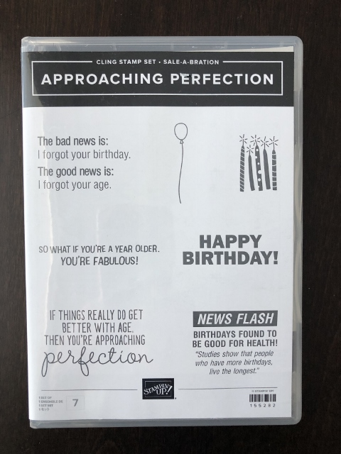 Approaching PerfectionStamp Set