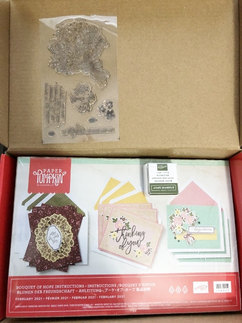 Bouquet Of Hope Paper Pumpkin kit.