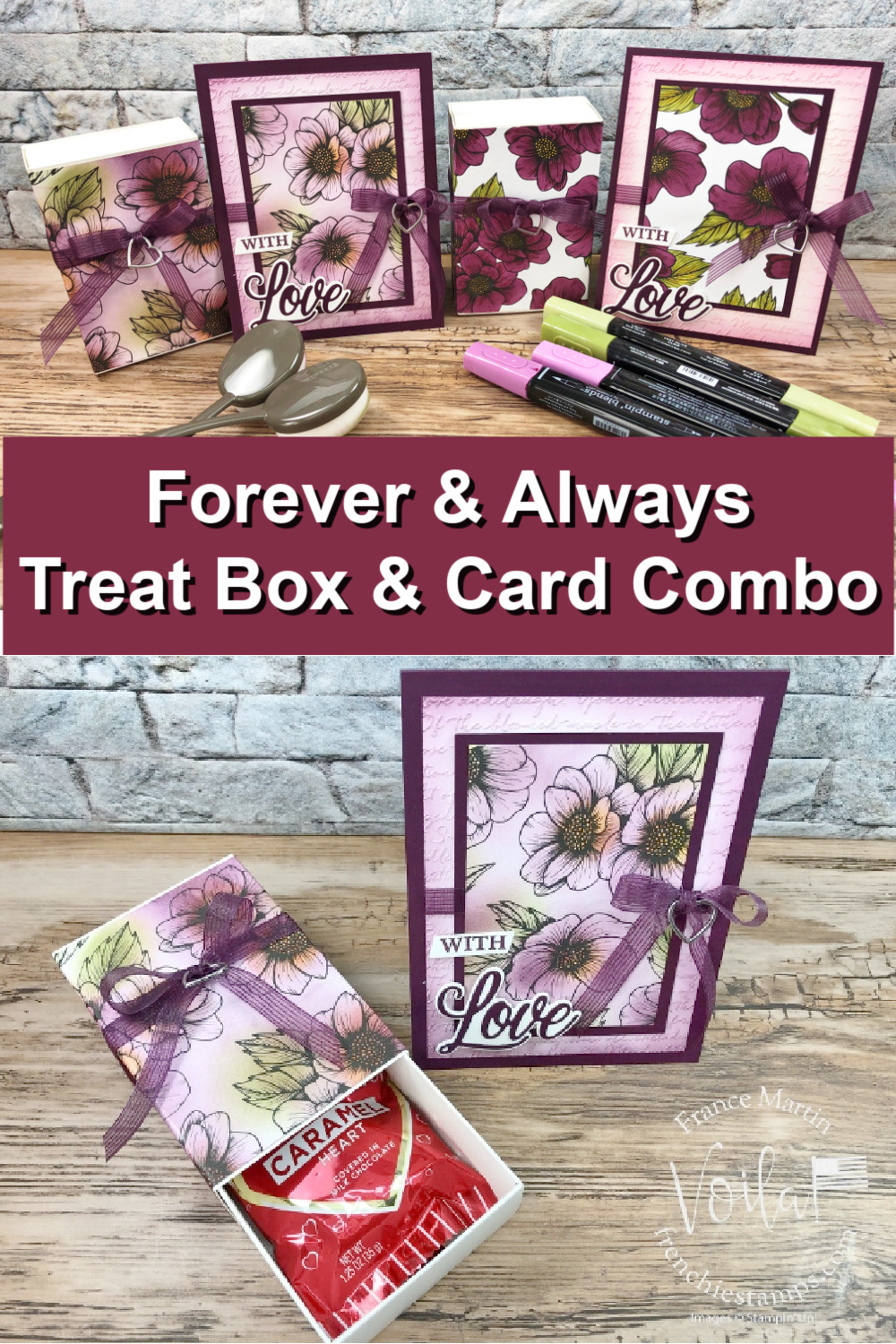True Love Treat Box and Card Comb