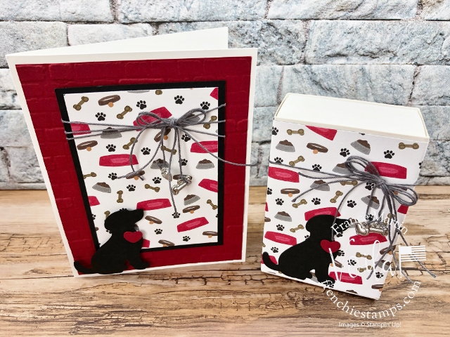 Playful Pets Treat Box and card combo.