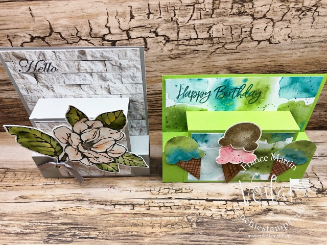 Pop-Up Front Step Card with Frenchie.