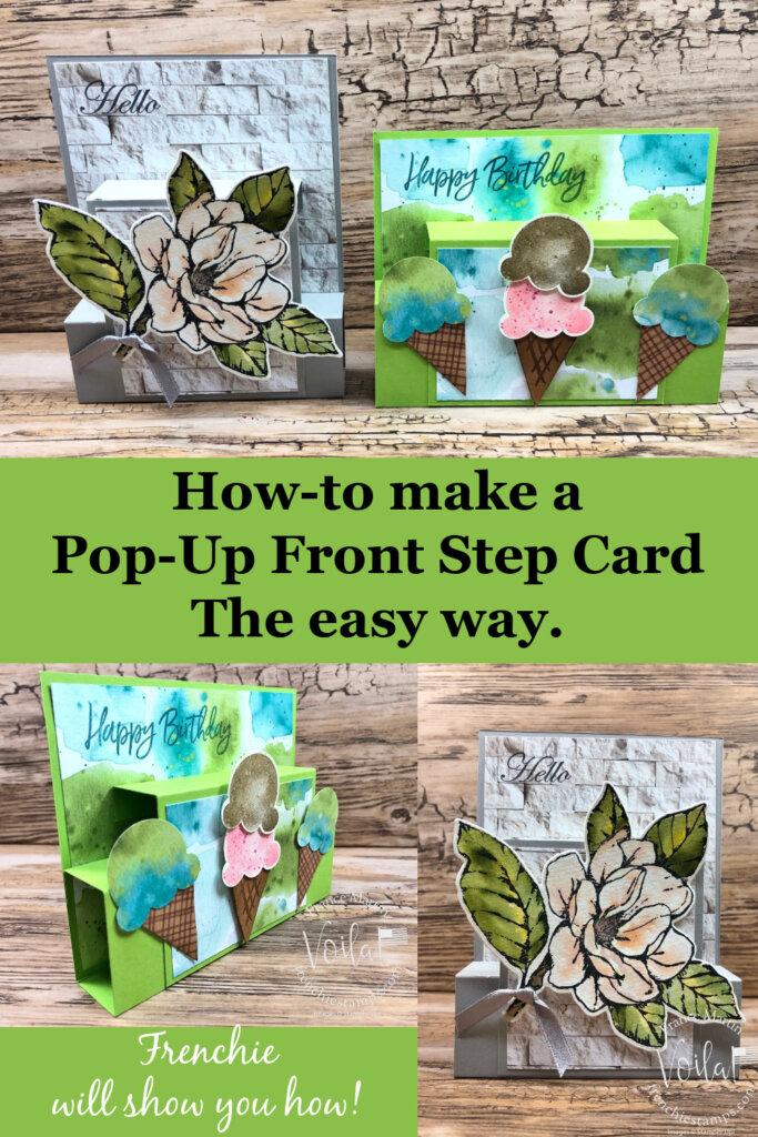 Pop-Up Front Step Card Fun Fold