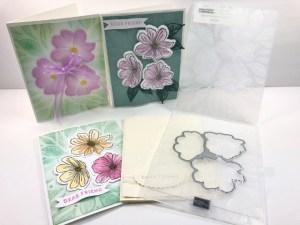 Tip for the Art In Bloom Bundle Hybrid Embossing Folder