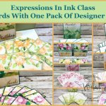 Card Class with Expressions In Ink Designer Paper.