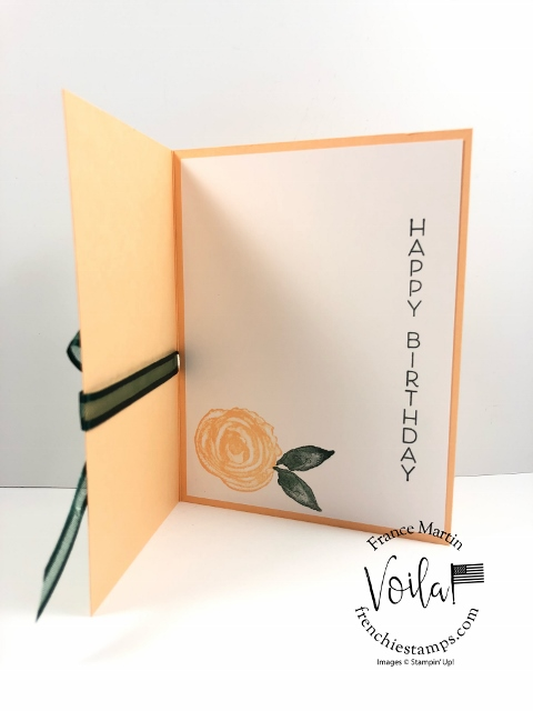 Birthday Card with Expressions In Ink and Celebrate With Flowers.