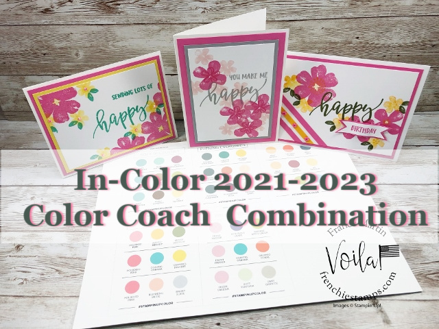 Stampin' Up! Color Coach for 2021-2023 In-Color