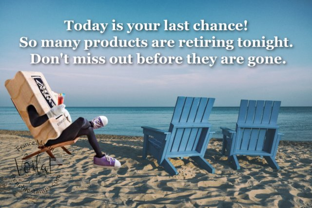 Last Chance on 2020-2021 Retiring Stampin Up Product!