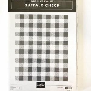 Buffalo Check Stamp Set