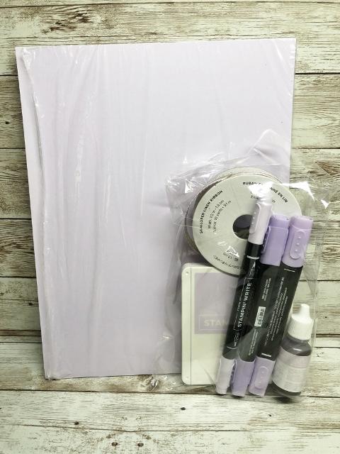 Purple Posy 19-21