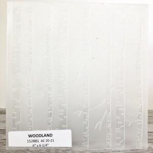 Woodland Embossing Folder
