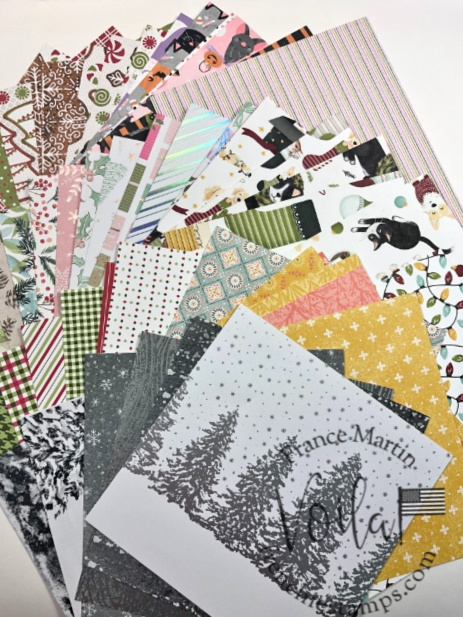 Designer Paper share fall 2021 with Frenchie.