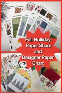 Paper Share, Chart and more from the Fall 2021 Mini Catalog