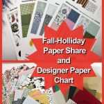 Designer Paper and more share, fall 2021 with Frenchie.