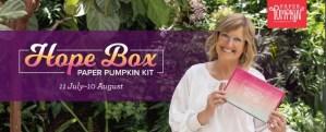 Hope Box Paper Pumpkin August 2021