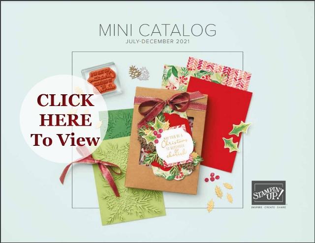 2021 Stampin'Up!® Fall Mini Catalog.