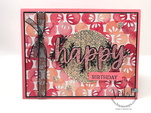 Be Dazzling and Christmas Cheer Dies For A Birthday Cards